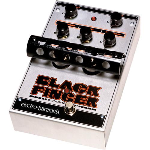 Electro-Harmonix Black Finger Optical Tube Compressor Pedal