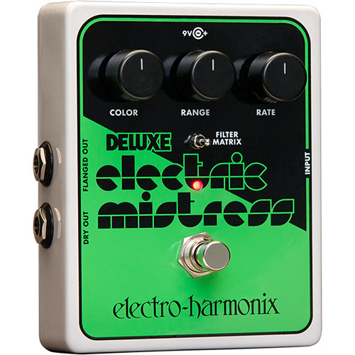 Electro-Harmonix Deluxe Electric Mistress XO Analog Flanger Pedal