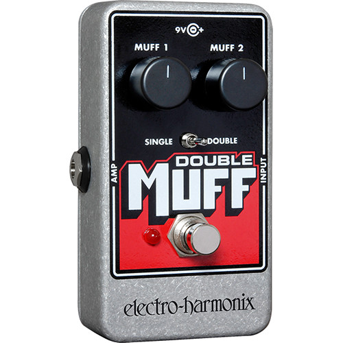 Electro-Harmonix Double Muff Fuzz/Overdrive Pedal