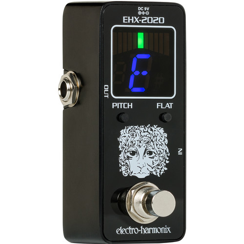 Electro-Harmonix EHX-2020 Chromatic Tuner Pedal for Guitars and Basses