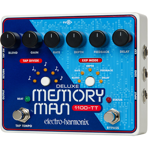 Electro-Harmonix Deluxe Memory Man 1100-TT Analog Delay Pedal