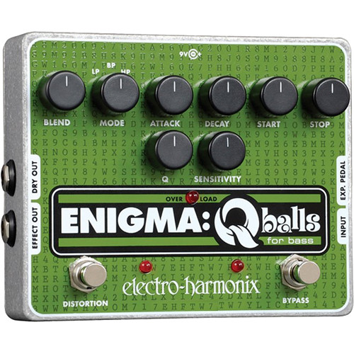 Electro-Harmonix Enigma Envelope Filter Pedal for Bass