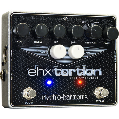 Electro-Harmonix EHX Tortion JFET Overdrive/Preamplifier Pedal