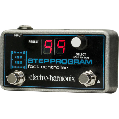 Electro-Harmonix 8-Step Remote Preset Foot Controller for 8-Step Program Pedal