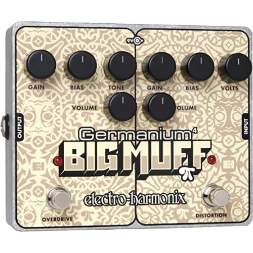Electro-Harmonix Germanium 4 Big Muff Pi Distortion/Overdrive Pedal