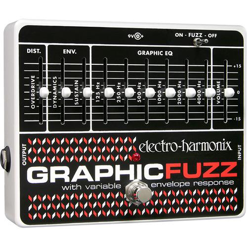 Electro-Harmonix Graphic Fuzz EQ/Distortion/Sustainer Pedal