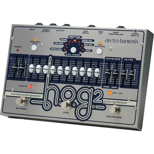 Electro-Harmonix HOG2 Harmonic Octave Generator / Guitar Synthesizer