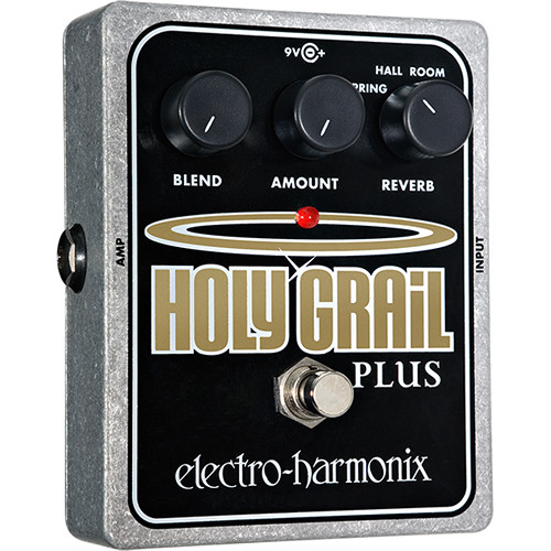 Electro-Harmonix Holy Grail Plus Reverb Guitar Pedal