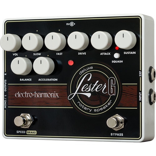 Electro-Harmonix Lester G Deluxe Rotary Speaker Emulation Pedal