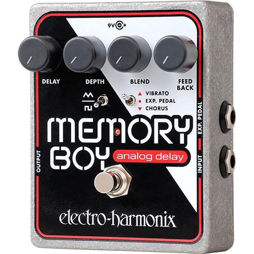 Electro-Harmonix Memory Boy Pedal with Analog Delay / Chorus / Vibrato