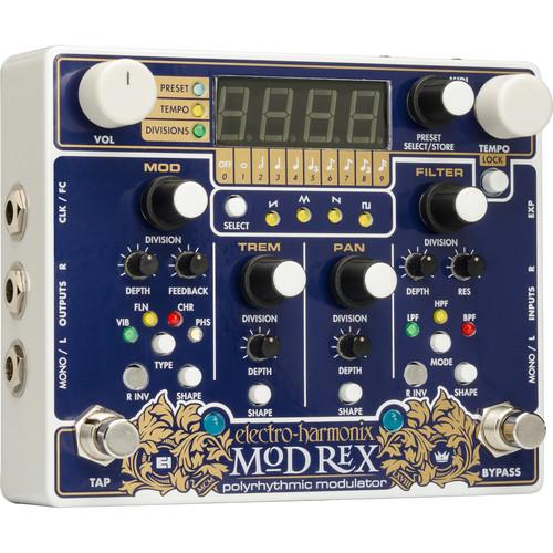 Electro-Harmonix Mod Rex Polyrhythmic Modulator Pedal