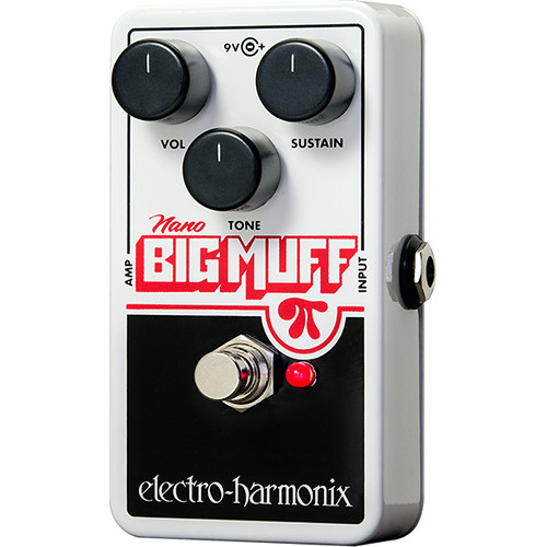 Electro-Harmonix Nano Big Muff Pi Distortion/Sustainer Pedal