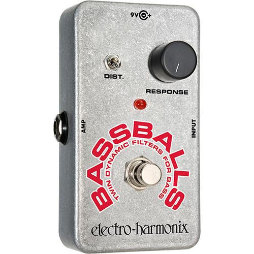 Electro-Harmonix Bassballs Twin Dynamic Envelope Bass Filter Pedal