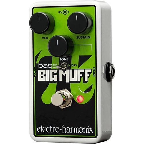 Electro-Harmonix Nano Bass Big Muff Pi Distortion/Sustain Pedal