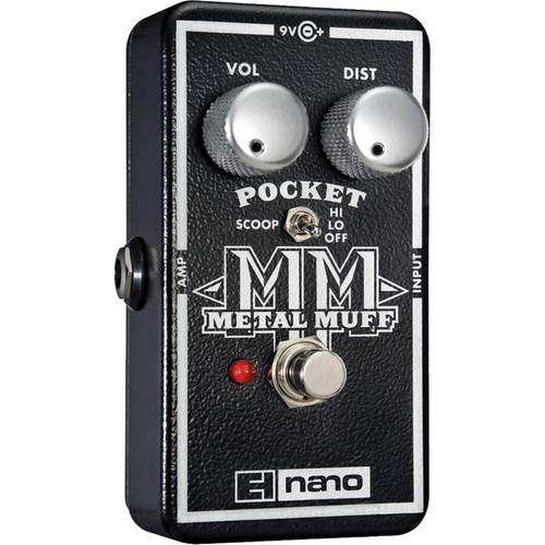 Electro-Harmonix Pocket Metal Muff Distortion Pedal