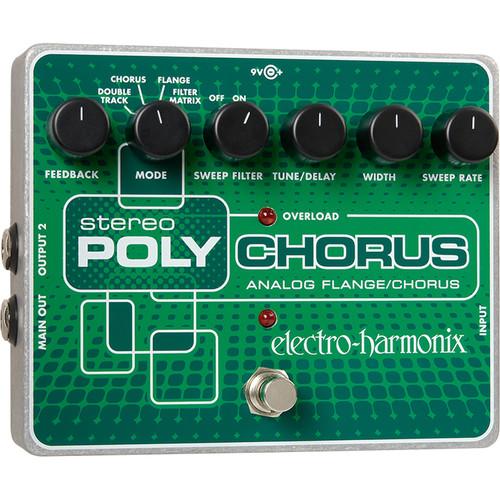 Electro-Harmonix Stereo Polychorus Pedal
