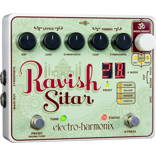 Electro-Harmonix RAVISH Sitar Emulator