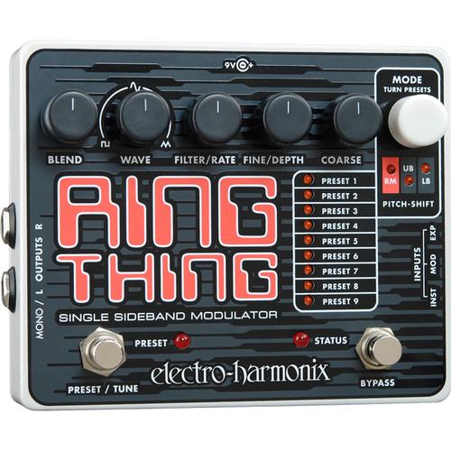 Electro-Harmonix Ring Thing Single Sideband Modulator Pedal