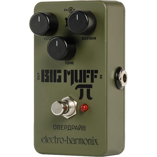 Electro-Harmonix Green Russian Big Muff Distortion/Sustain Pedal
