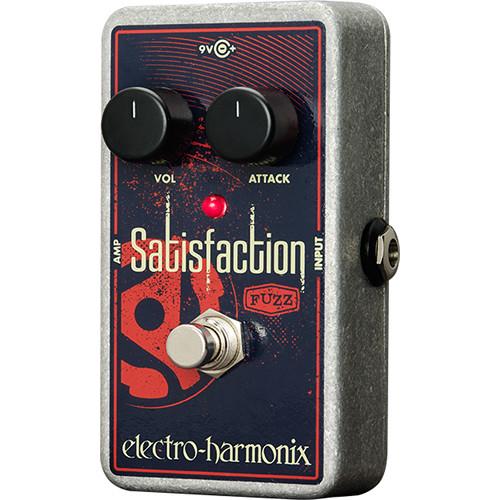 Electro-Harmonix SATISFACTION Fuzztone Pedal