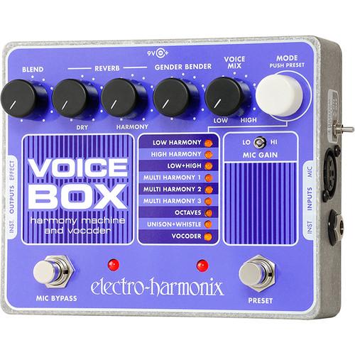 Electro-Harmonix Voice Box Vocal Harmony Machine/Vocoder