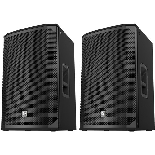 """Electro-Voice EKX-15P Kit with Two 15"""" Two-Way Powered Loudspeakers"""