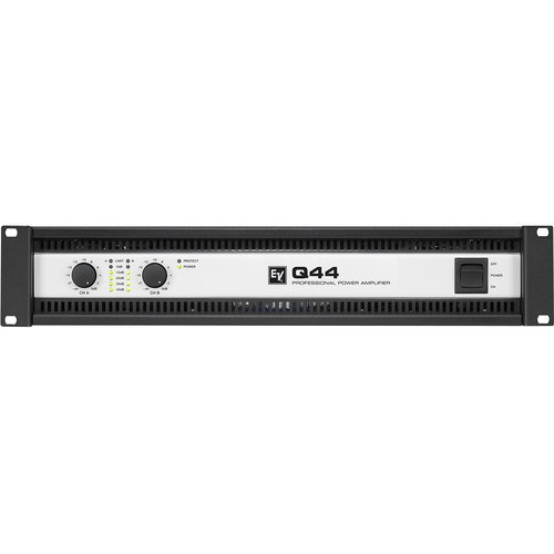Electro-Voice Q44-II 2 x 450W Professional Power Amplifier (120V)