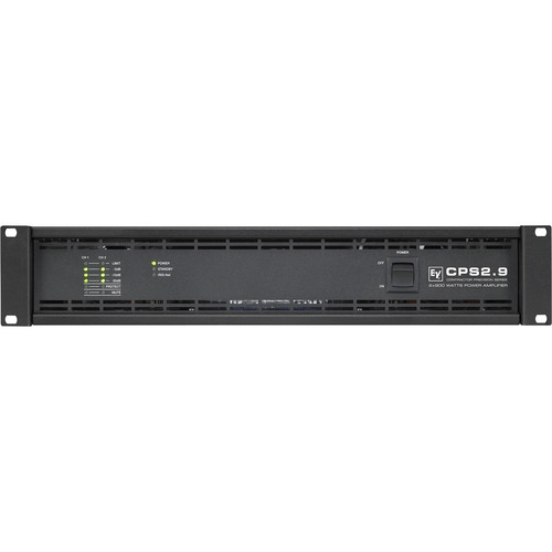 Electro-Voice CPS2.9 2-Channel Power Amplifier for RCM-810 IRIS-Net Remote Control Module (900W, 4 Ohms)