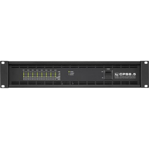 Electro-Voice CPS8.5 8-Channel Power Amplifier for RCM-810 IRIS-Net Remote Control Module (500W, 2/4 Ohms)
