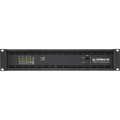 Electro-Voice CPS4.10 4-Channel Power Amplifier for RCM-810 IRIS-Net Remote Control Module (1000W, 2/4 Ohms)