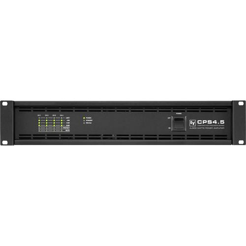 Electro-Voice CPS4.5 4-Channel Power Amplifier for RCM-810 IRIS-Net Remote Control Module (500W, 2/4 Ohms)
