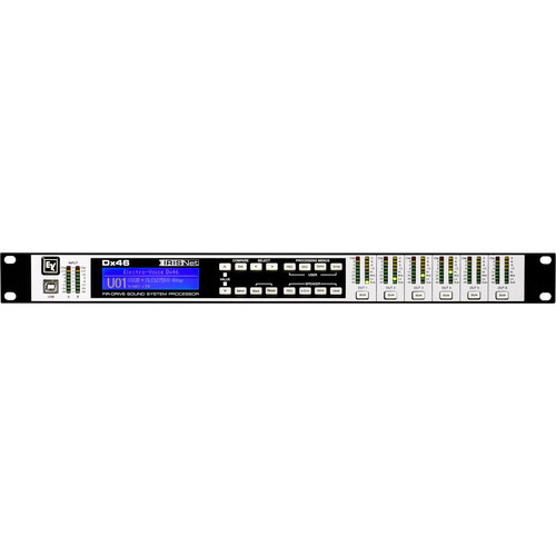 Electro-Voice Dx46 FIR-Drive Analog/Digital Sound System Processor (120V, 1RU)
