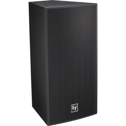 """Electro-Voice EVF-1121S Single 12"""" Front-Loaded Outdoor Bass Element System (Fiberglass-Finish, Black)"""