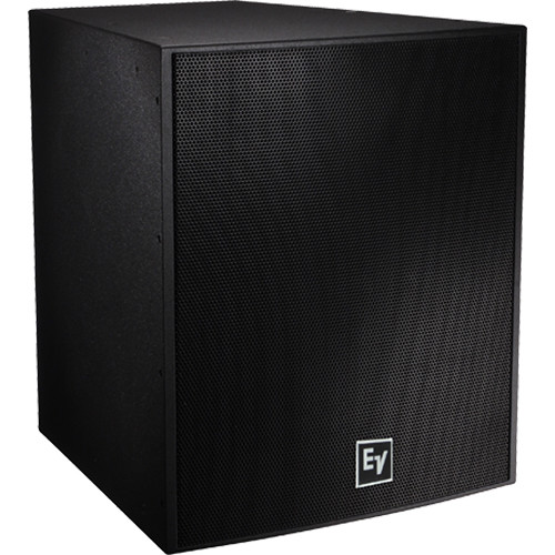 """Electro-Voice EVF-1181S Single 18"""" Front-Loaded Outdoor Subwoofer System (Fiberglass-Finish, Black)"""