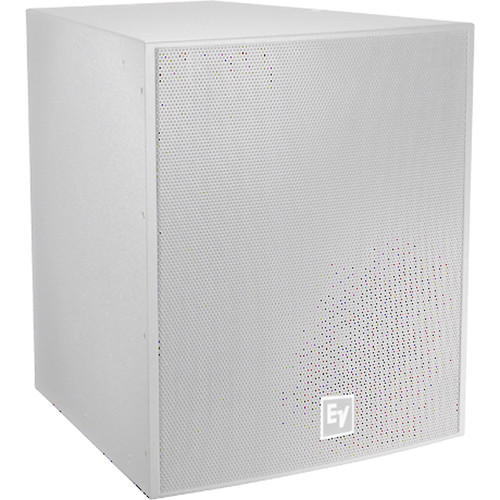 """Electro-Voice EVF-1181S Single 18"""" Front-Loaded Outdoor Subwoofer System (Fiberglass-Finish, White)"""