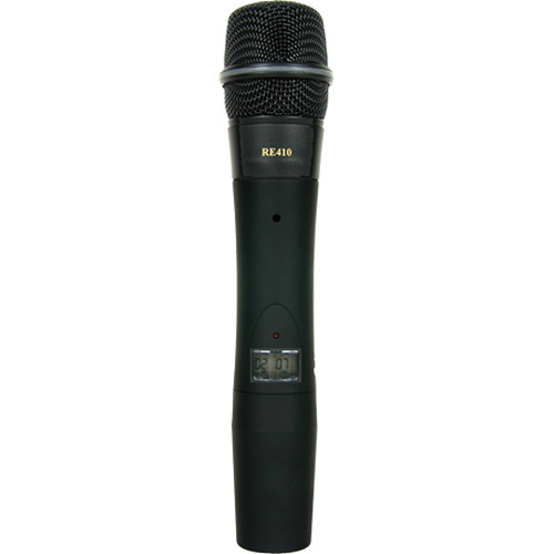 Electro-Voice HTU2C-510-G 1112 Channel Handheld Transmitter with RE510 Supercardioid Condenser Microphone