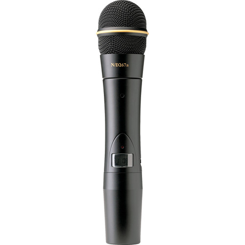 Electro-Voice HTU-2 Handheld Transmitter with N/D267a Dynamic Microphone Capsule (G-Band: 614 to 642 MHz)