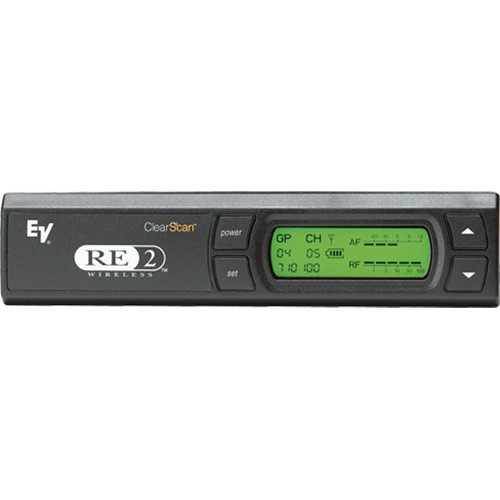 Electro-Voice RE-2PRO-G 1112 Channel Wireless Receiver with 1/4 Antennas, RF, & Audio Meters