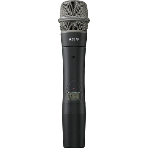 Electro-Voice PHTU-2C4-G 1112 Channel Handheld Transmitter with RE410 Cardioid Condenser Microphone