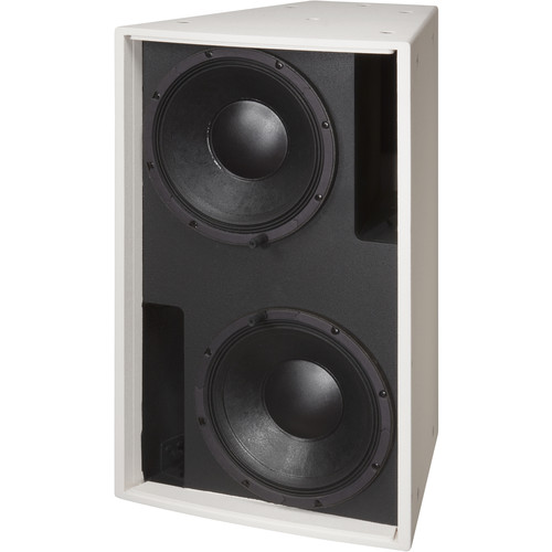 """Electro-Voice EVF2121S Dual 12"""" Bass Element System (White, Weather-Resistant)"""