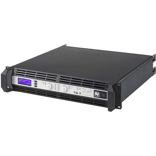 Electro-Voice TG-7 2-Channel Tour Grade Amplifier (2500W, 4 Ohms)