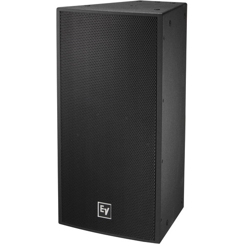 "Electro-Voice EVF-1122S Single 12"" 2-Way Full-Range Indoor Loudspeaker System (EVCoat-Finish, Black)"
