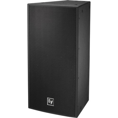 "Electro-Voice EVF-1122S Single 12"" 2-Way Full-Range Indoor Loudspeaker System (EVCoat-Finish, Black)"