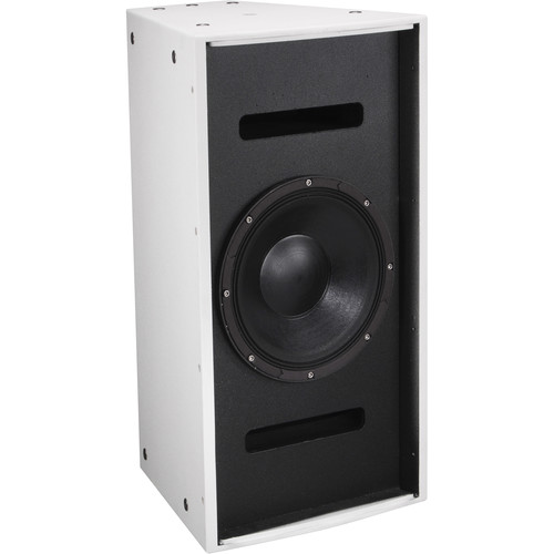 "Electro-Voice EVF-1121S Single 12"" Front-Loaded Indoor Bass Element System (EVCoat-Finish, White)"
