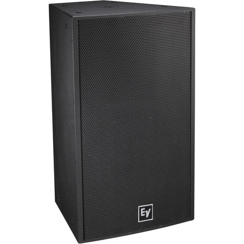 "Electro-Voice EVF-1152D Single 15"" 2-Way Full-Range Indoor Loudspeaker System (EVCoat-Finish, 60 x 40°, Black)"