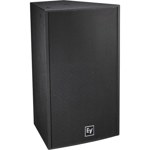 "Electro-Voice EVF-1152D Single 15"" 2-Way Full-Range Indoor Loudspeaker System (EVCoat-Finish, Black)"