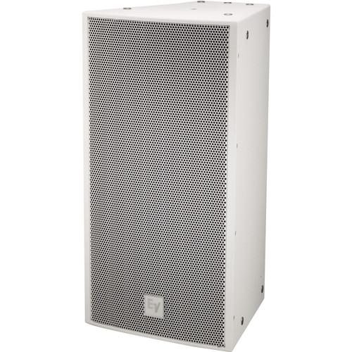 "Electro-Voice EVF-1122D Single 12"" 2-Way Full-Range Semi-Outdoor Loudspeaker System (Weather-Resistant PI-Finish, White)"
