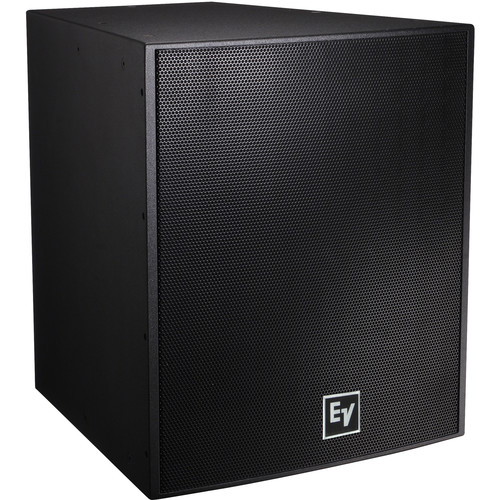 "Electro-Voice EVF2151D Dual 15"" Front-Loaded Bass Element System (Black, with Fiberglass)"