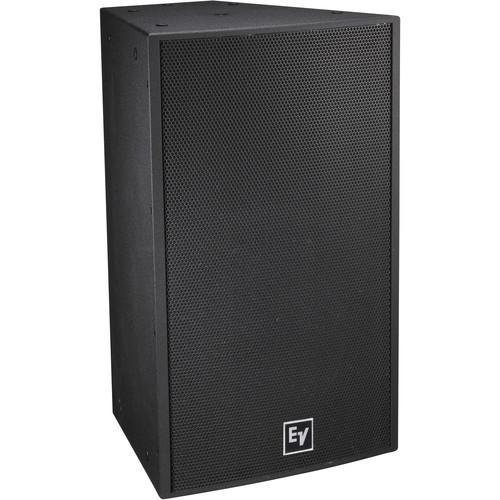 "Electro-Voice EVF-1152S Single 15"" 2-Way Full-Range Outdoor Loudspeaker System (Weather-Resistant Fiberglass, Black)"