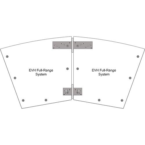 Electro-Voice HRK-3B Horizontal Rigging Kit for EVH Series (Black)